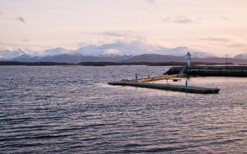 Molde, pas en été