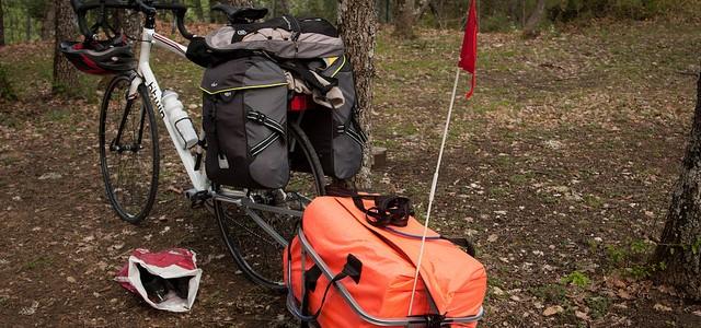 Voyage à vélo : les bagages