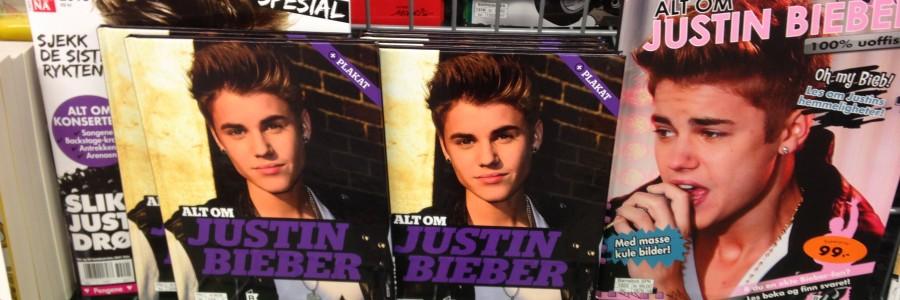 Justin Bieber est parmi nous