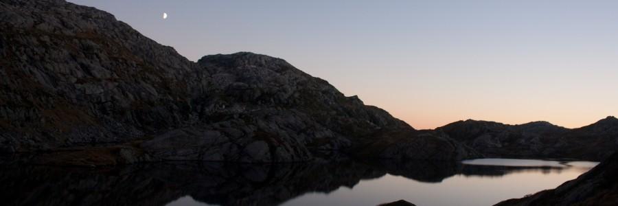 Høgabu et le soleil rasoir