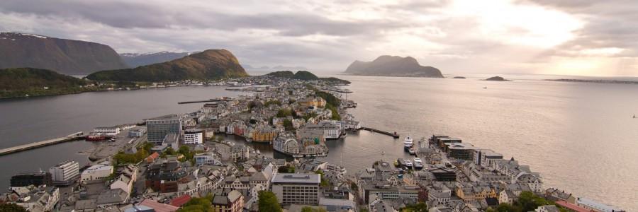 Ålesund, le retour