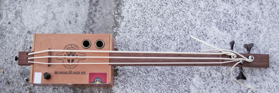 Cigar Box Ukulele Bass